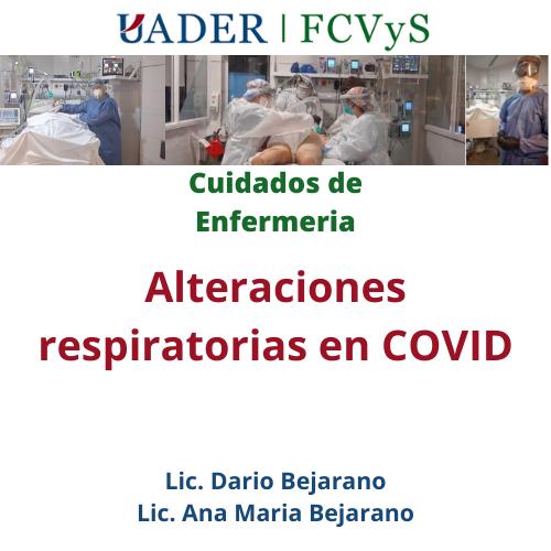 Enfermeria COVID